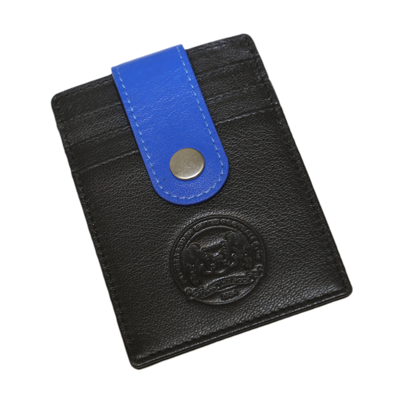 Button Clip Card Holder