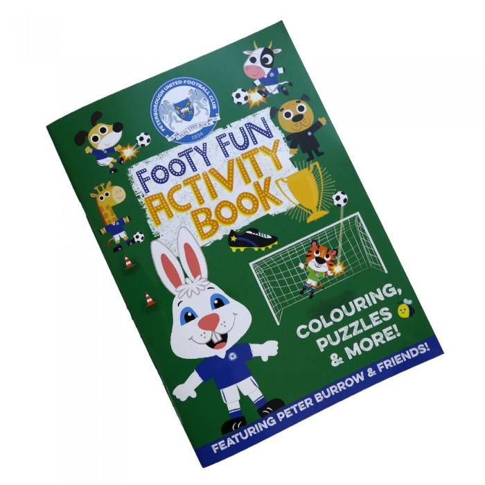 Footy Fun Activity Book
