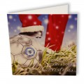 Footy Christmas Card