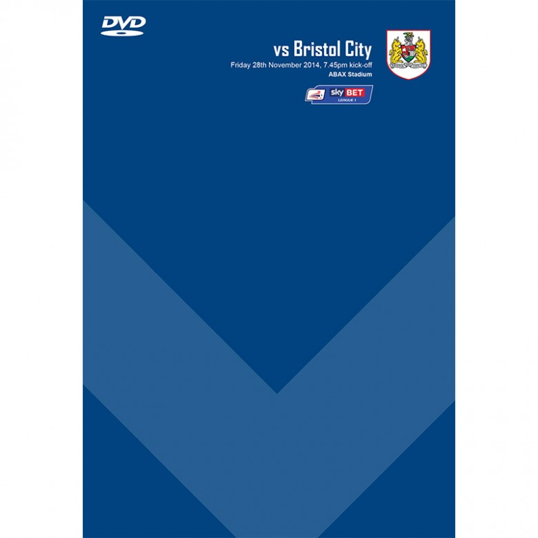 DVD Bristol City (H, 28/11/14)