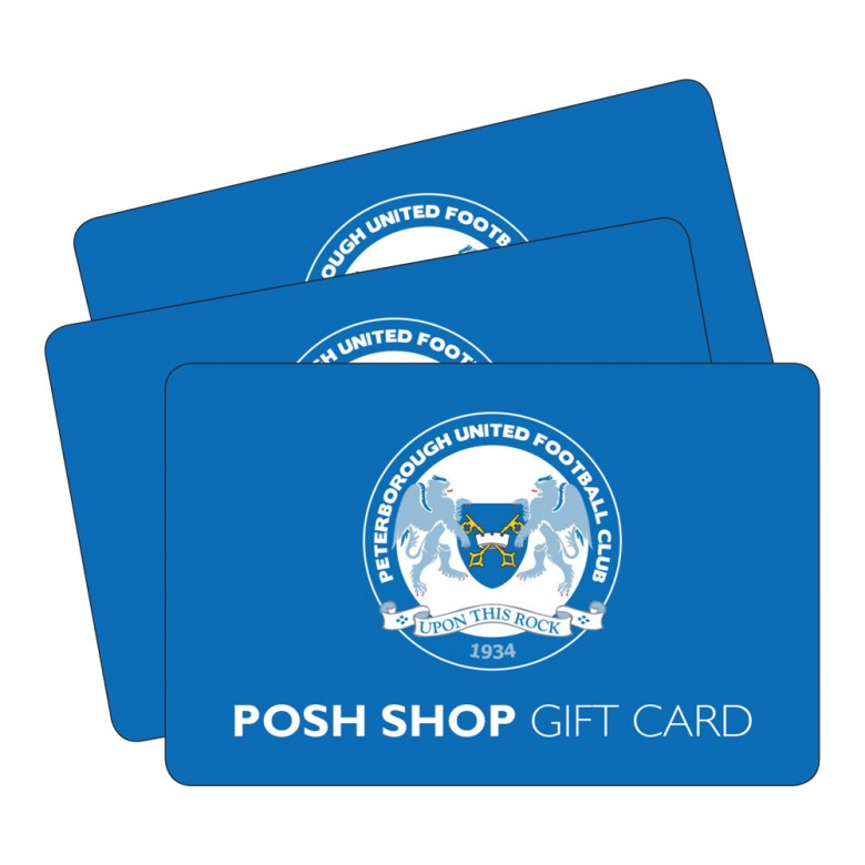 The Posh Gift Card
