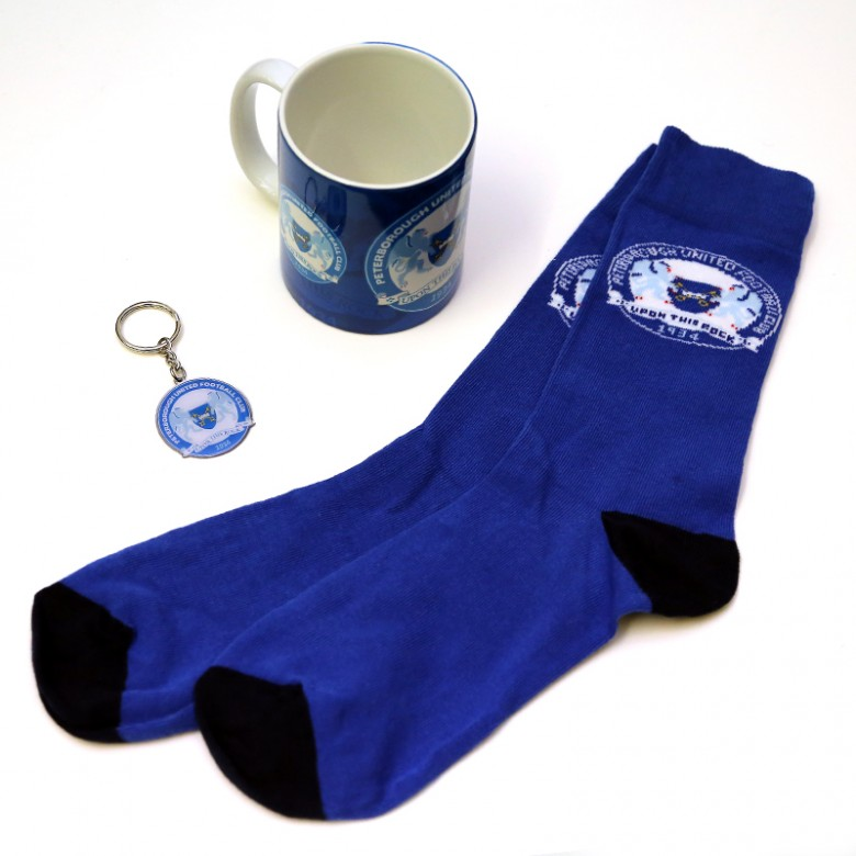 Mug,Socks and Keyring Gift Set