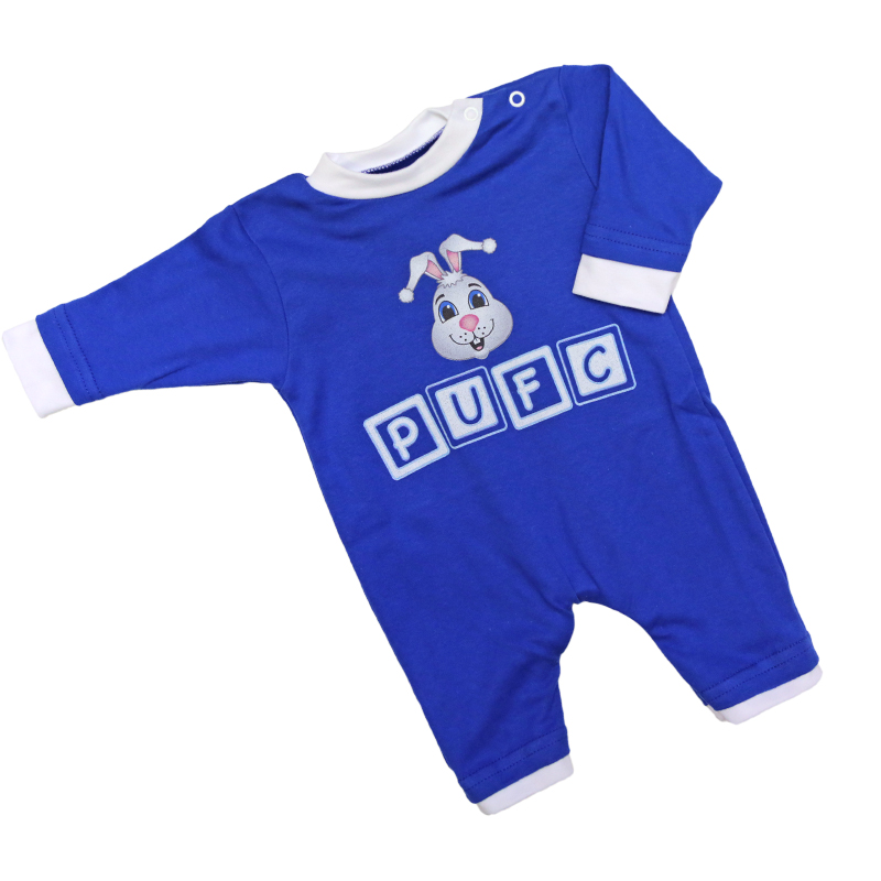Blue Burrow Sleepsuit