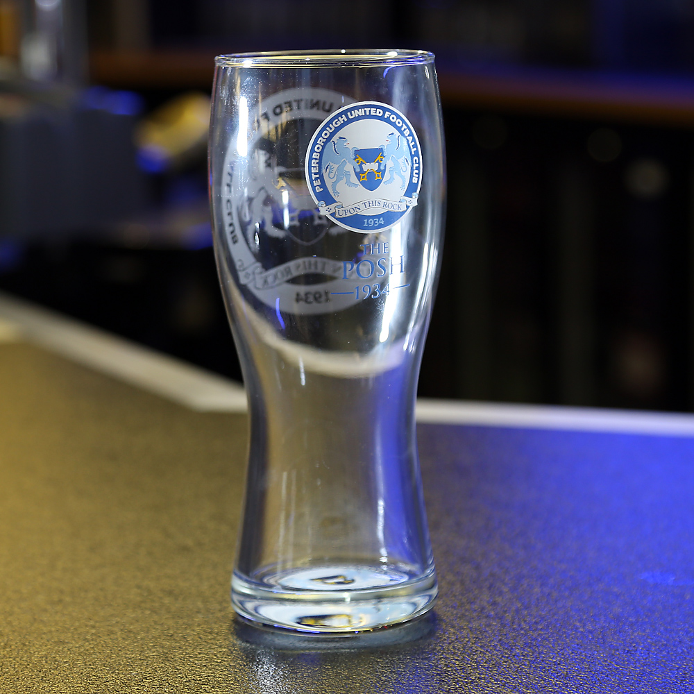 The Posh Pint Glass