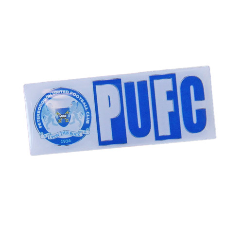 PUFC Pin Badge