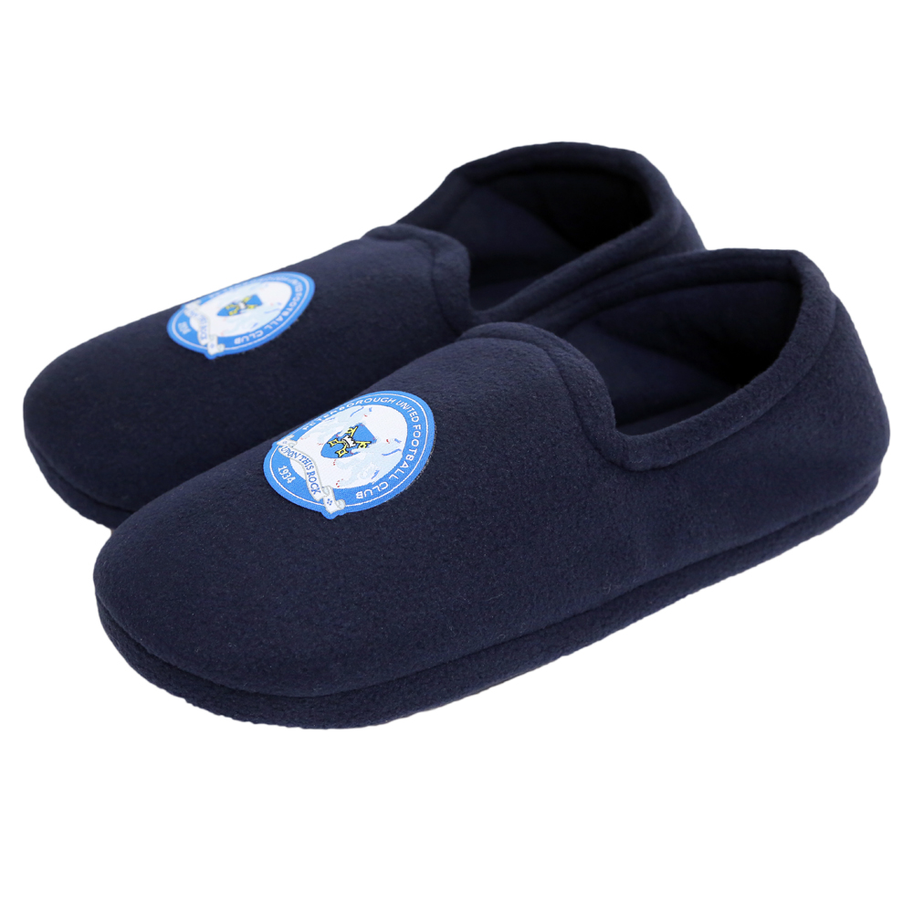 Junior Crest Slippers