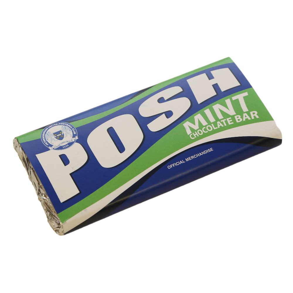 Posh Mint Chocolate Bar