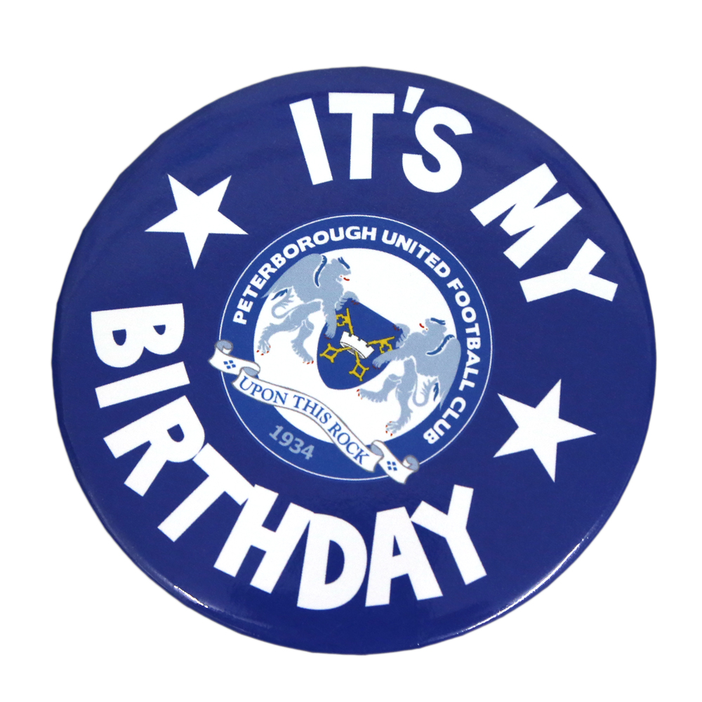 Birthday Badge