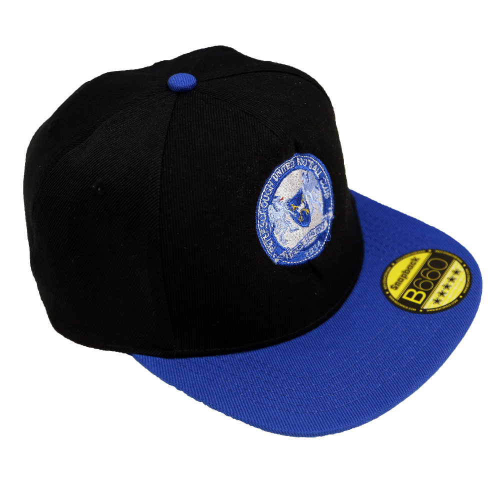 Black Snap Back Cap