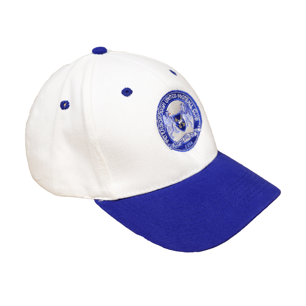 White and Royal Cap 4199