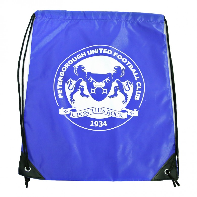 Royal Blue Drawstring Bag