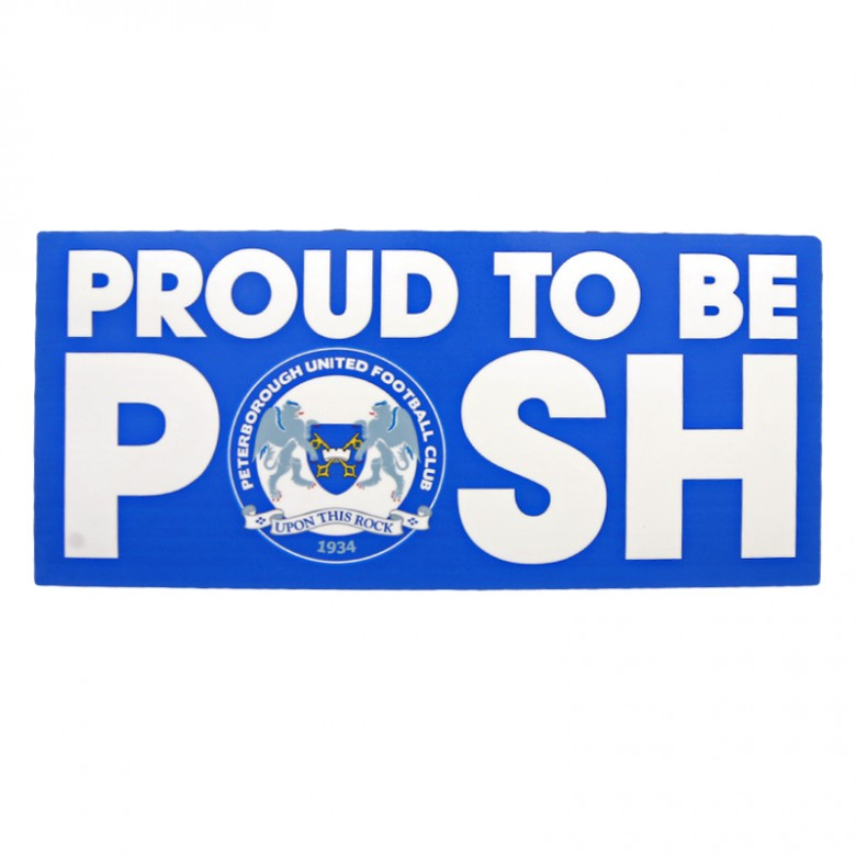 Proud To Be 2014/15 Sticker
